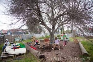 Kids Round the Apple Tree
